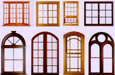 Kusen jendela kayu